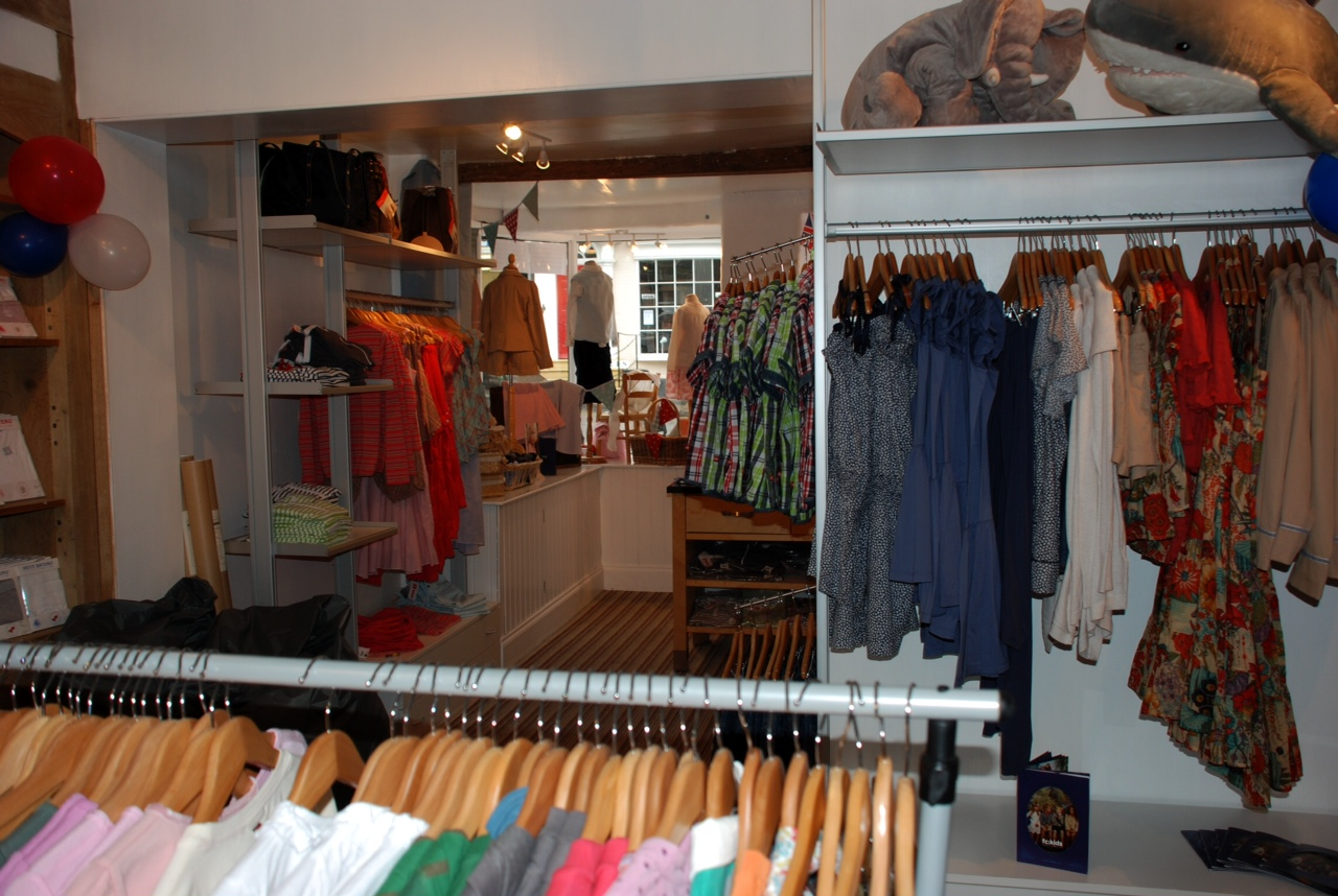 Fashion Childrens Clothes shop  for sale . Ludlow , Shropshire SOLD