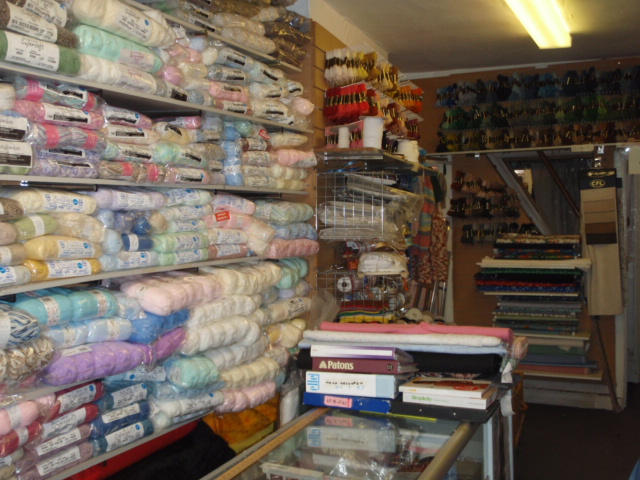 Wool, Dress Fabrics, Curtain Fabrics & Haberdashery Business in Cheshire.