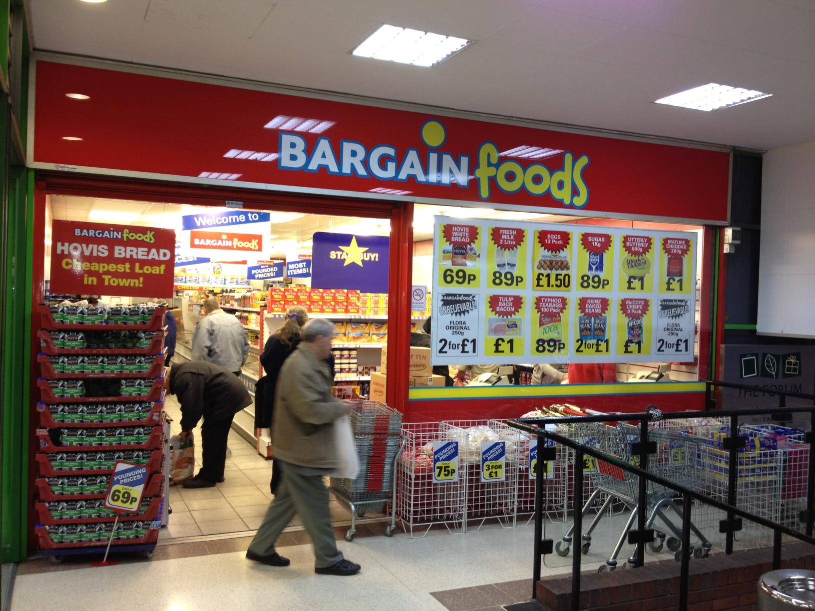 Bargain foods cannock