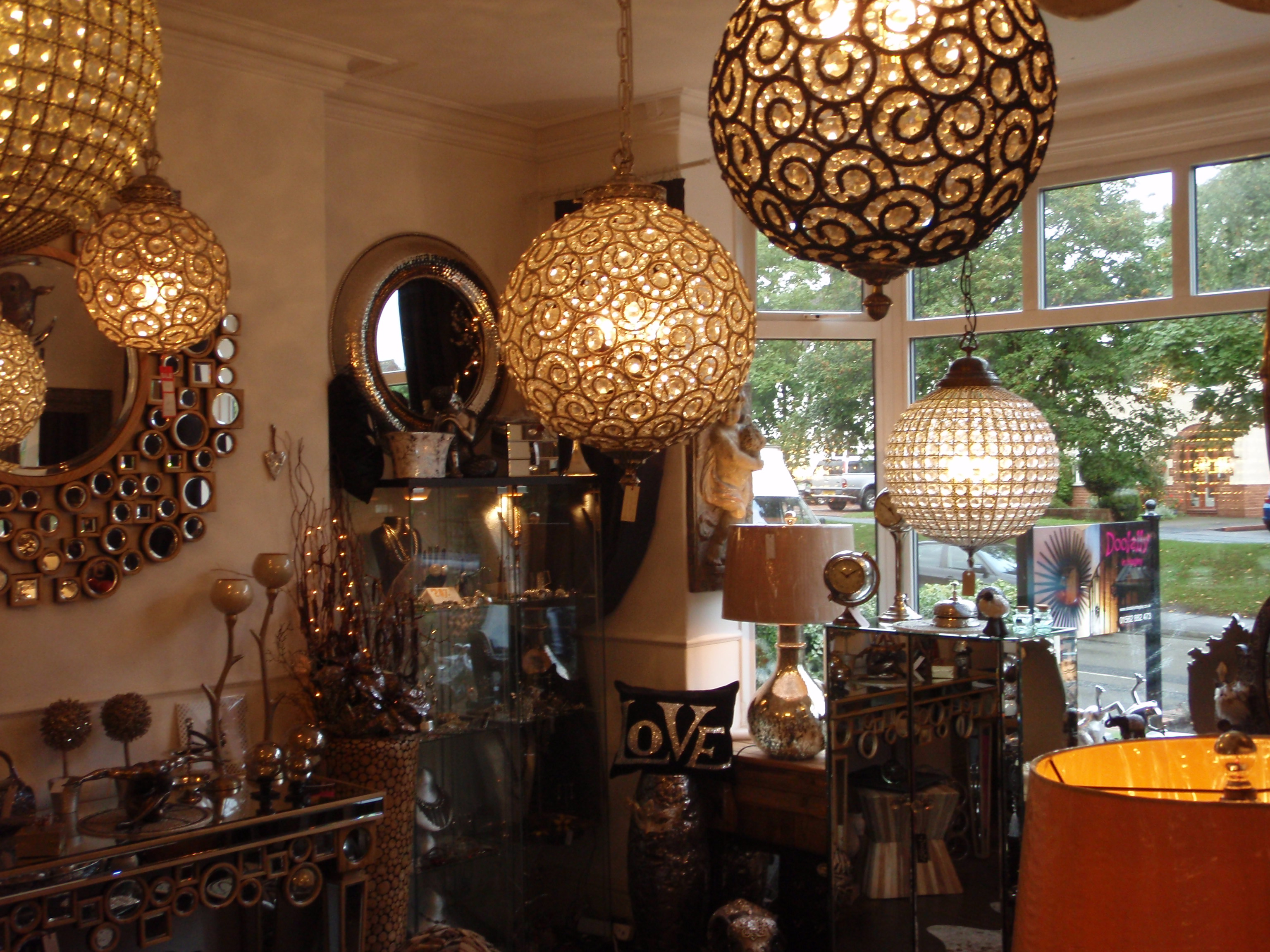 Interior and Giftware Boutique Hagley, Worcestershire